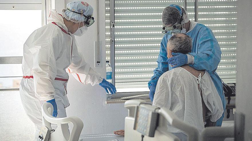 Enero, el mes más trágico de la pandemia en Canarias