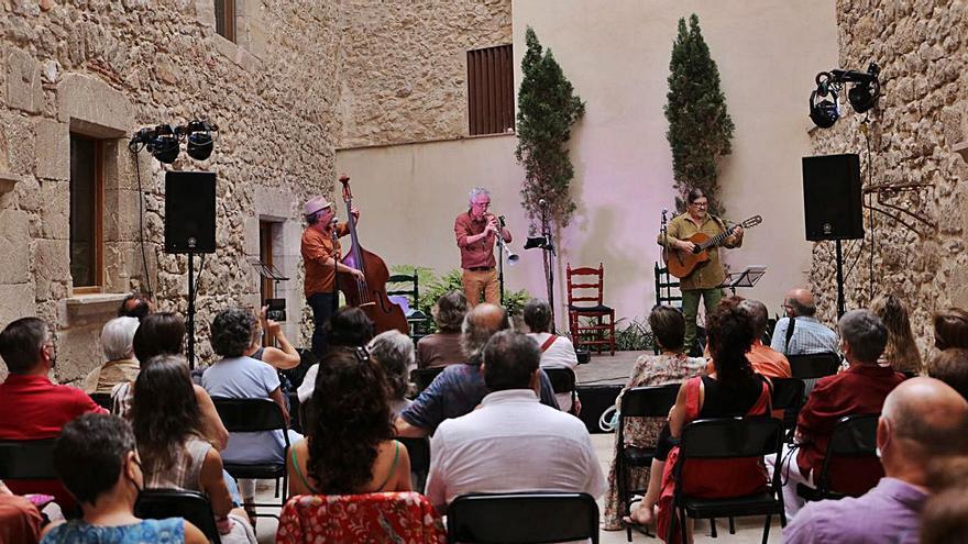 Els escalencs són fidels a la música tradicional i d'arrel