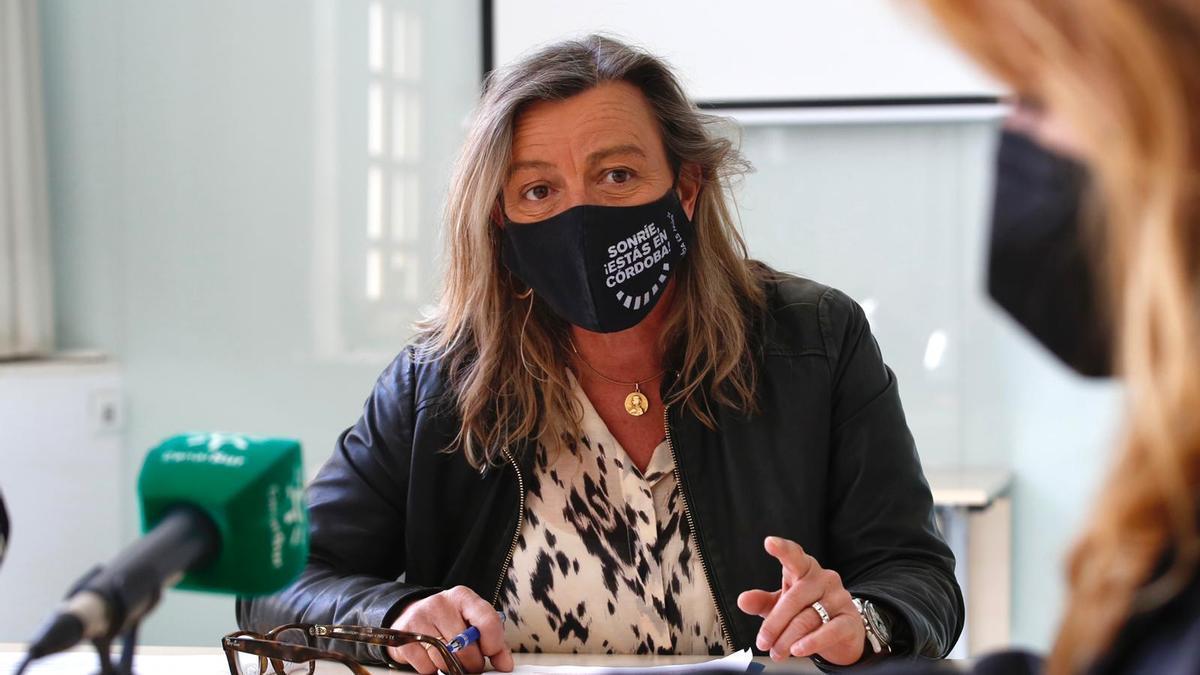 Isabel Albás, en la presentación del estudio sobre corresponsabilidad laboral durante la pandemia.