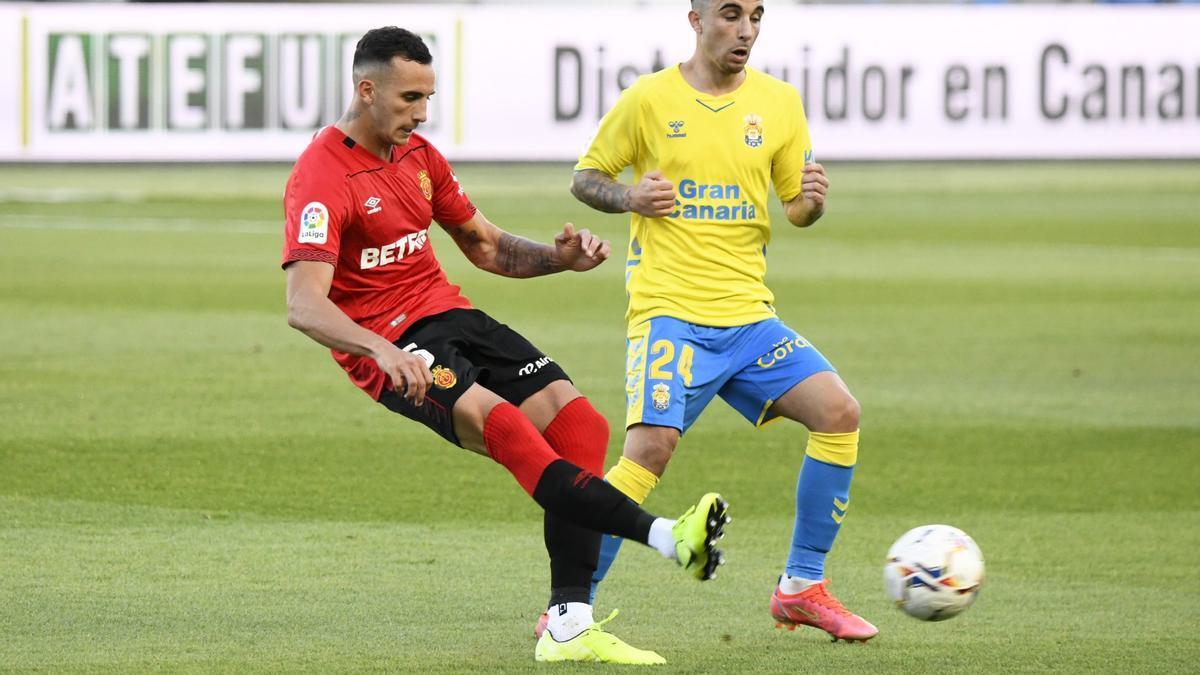 Russo en el pasado encuentro ante Las Palmas.