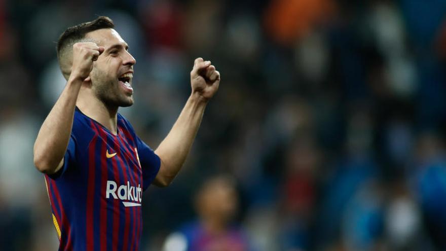 Jordi Alba renueva su contrato con el Barcelona hasta 2024