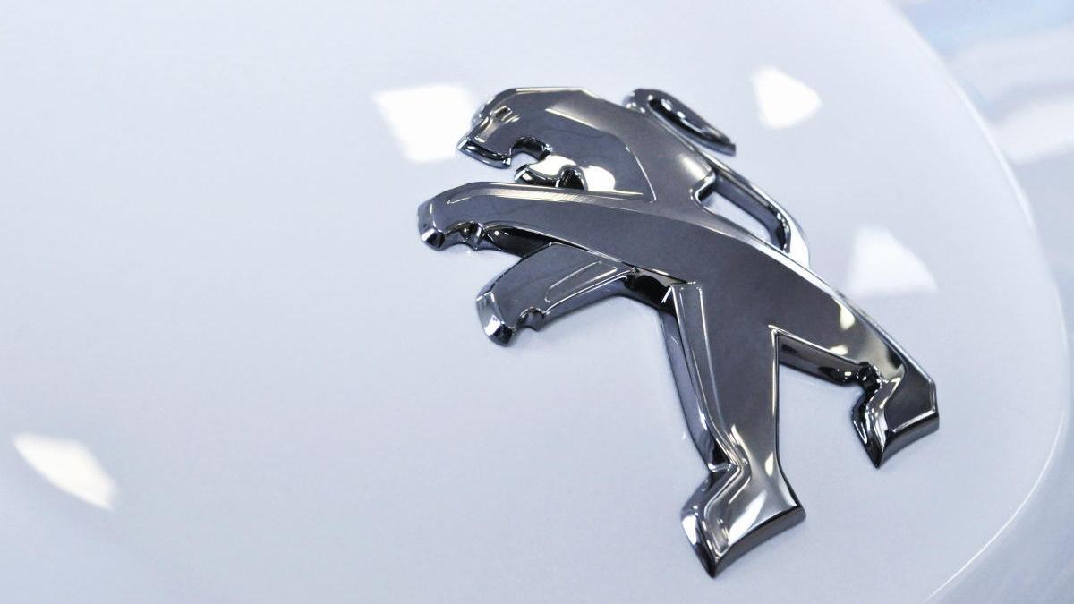 El león de Peugeot.