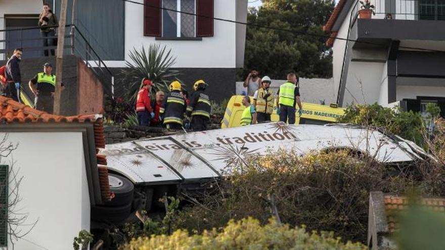 Aumenta a 29 la cifra de turistas alemanes muertos en el accidente de Madeira