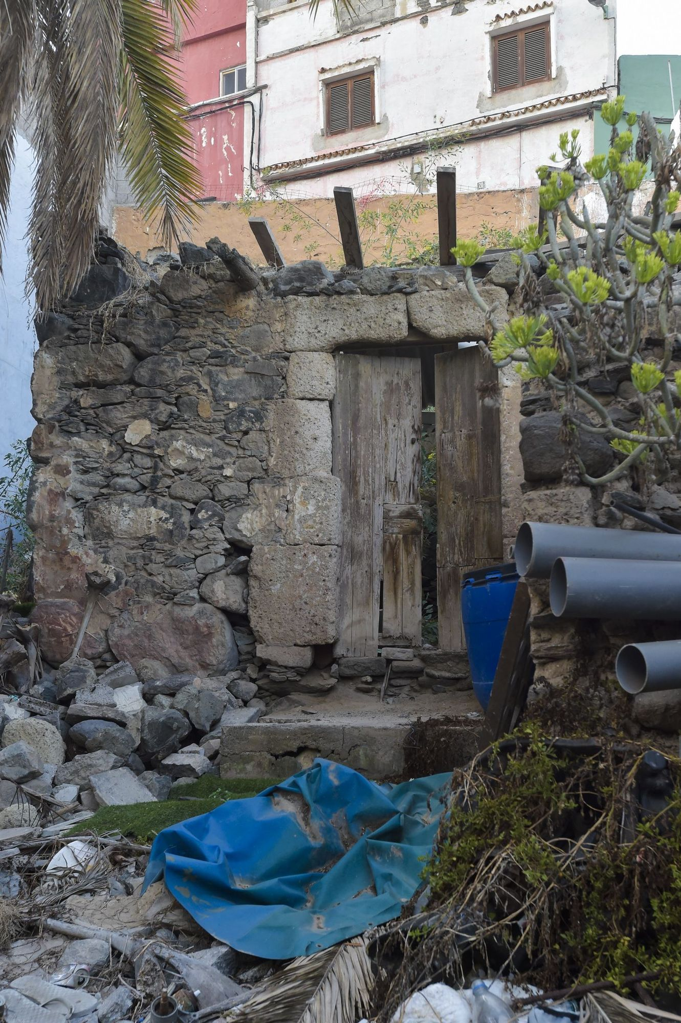 Antigua Casa de la Escobera, en el barrio del Risco
