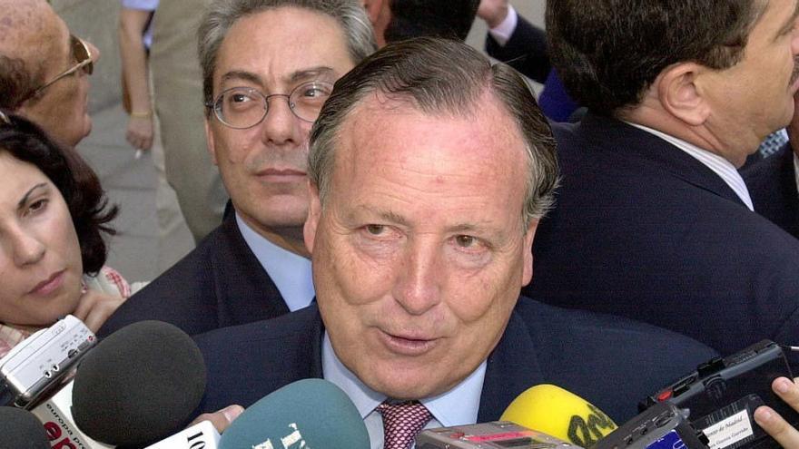 Herido leve el excalde de Madrid José María Álvarez del Manzano al ser atracado