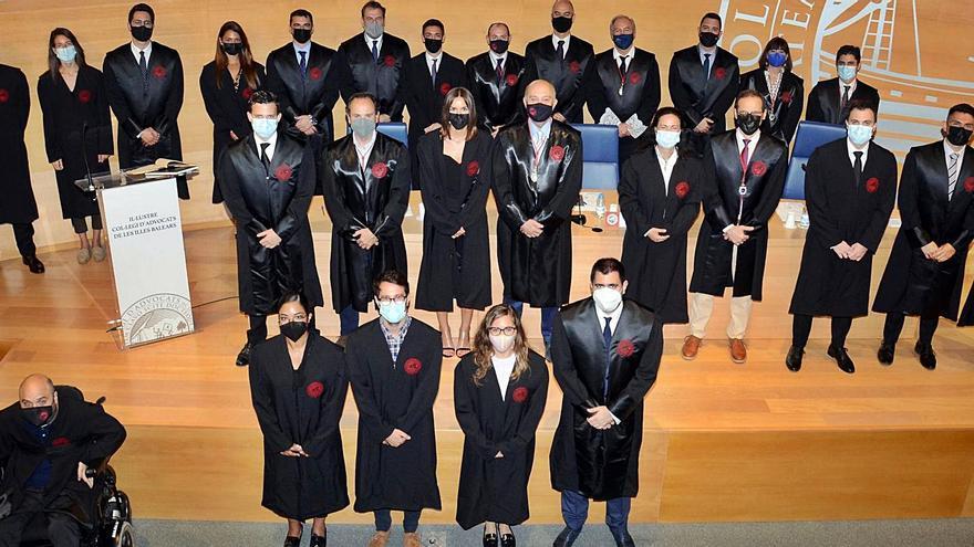 Jura de abogados  en el Colegio  de Abogados de Baleares