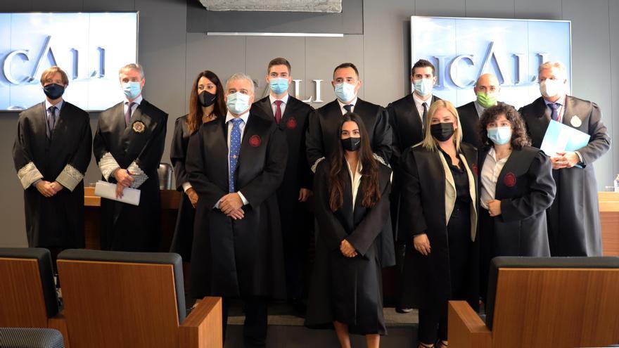 Siete abogados juran su cargo en el Icali