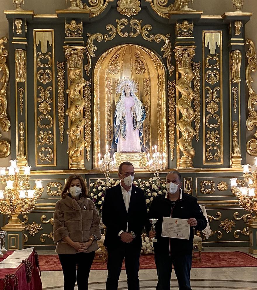El Paso Blanco de Lorca hace entrega de los premios del reto Lorca-Jerusalén