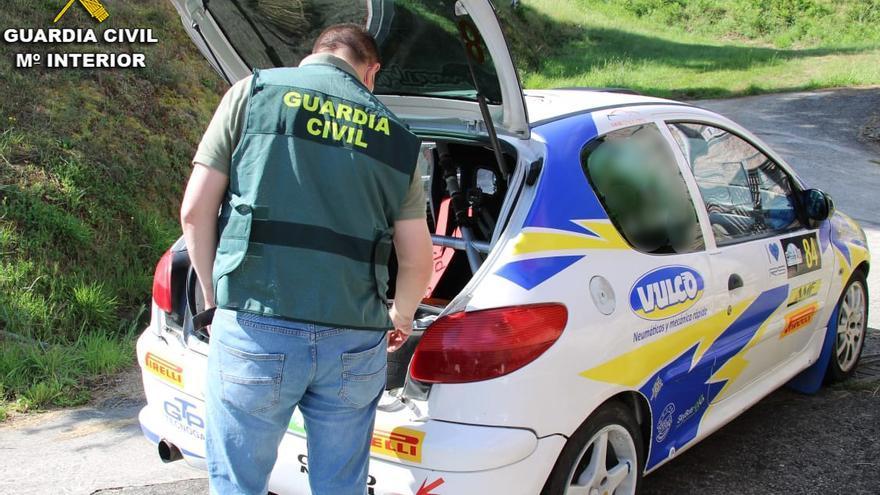 Investigado por un delito de falsedad documental un participante del Rallye de Pontevedra