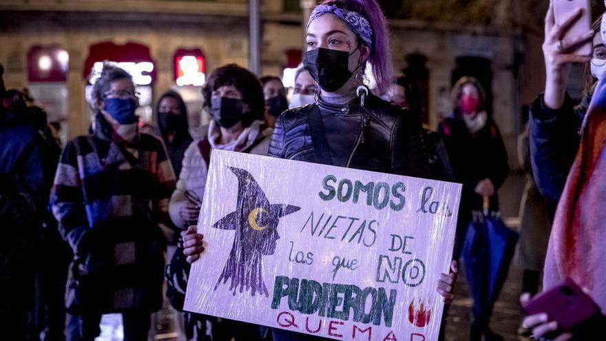 """El Movimiento Feminista de Mallorca pide acabar con la brecha salarial y erradicar """"la feminización de la pobreza"""""""