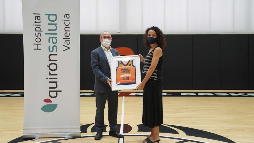 Quirónsalud Valencia colaborará con el Valencia Basket en sus dos próximas temporadas