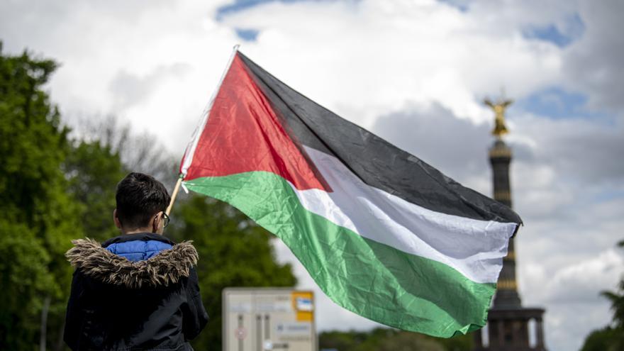 Al menos 93 policías heridos en Berlín en una protesta en favor de Palestina