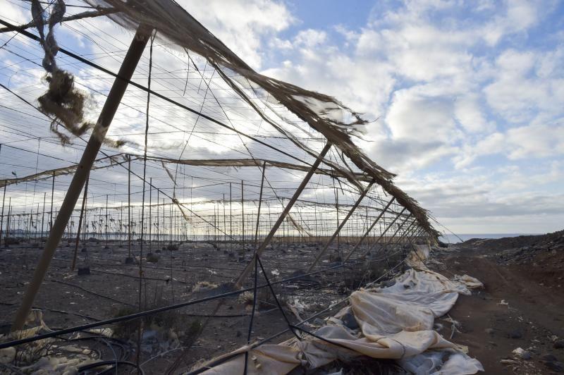 Invernaderos, abandonados en el sureste