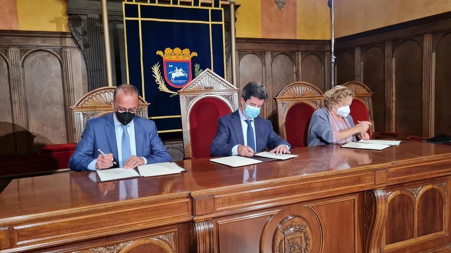 Gobierno de Aragón, Ayuntamiento de Huesca y CSIC firman un protocolo para poner en valor el legado de Ramón y Cajal