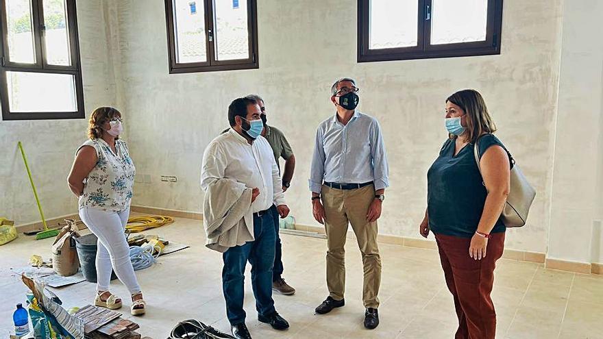La Diputación equipará el Centro de la Pasa en Moclinejo