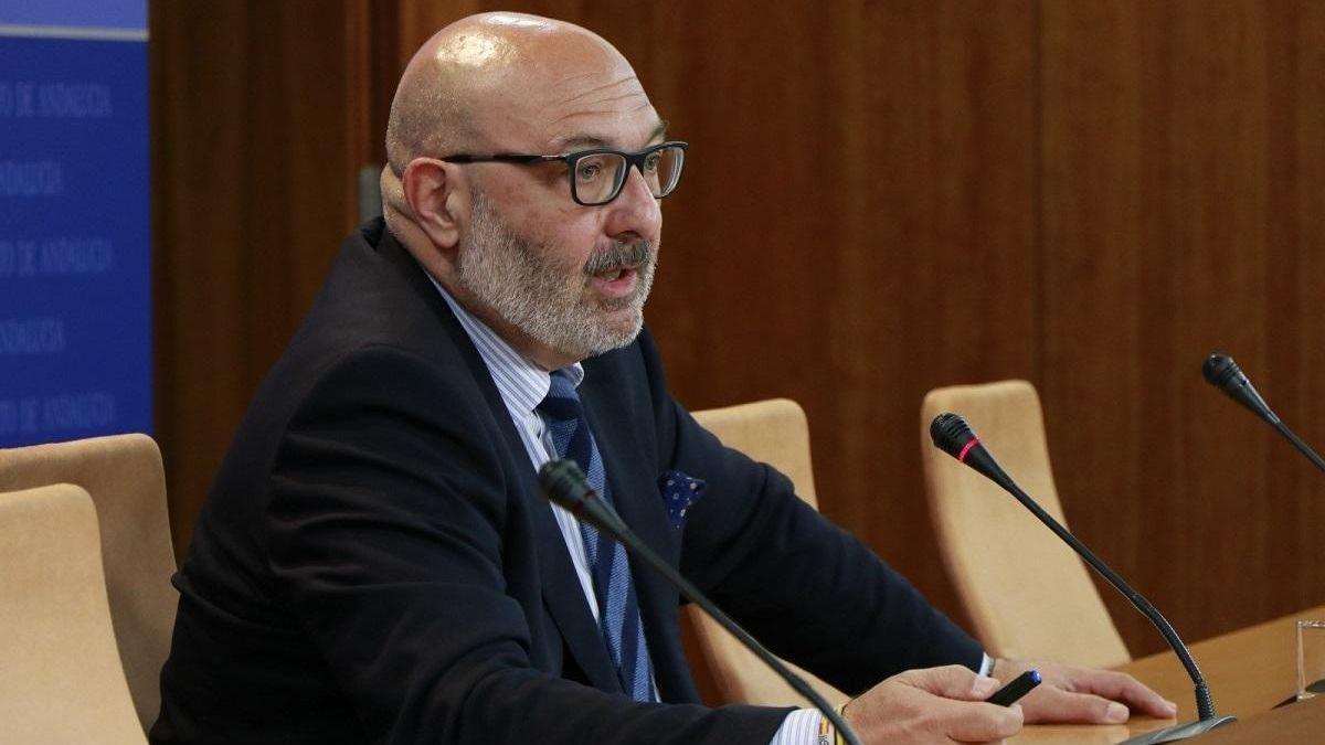 El parlamentario andaluz Alejandro Hernández