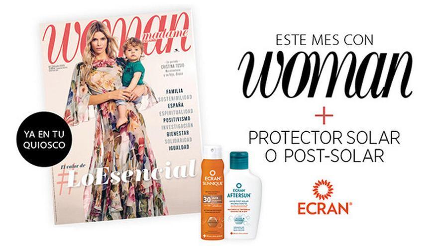 Consigue con la revista Woman de julio un magnífico solar o post solar de Ecran