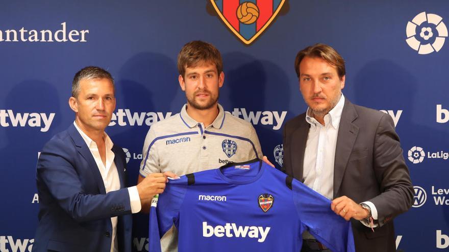 """Aitor: """"Desde el primer momento quería estar en el Levante UD"""