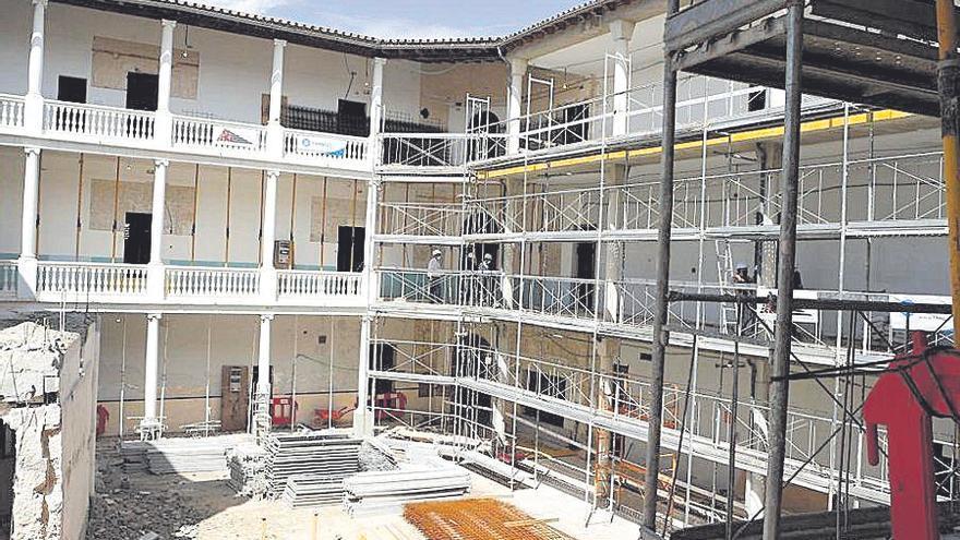 Avanzan «a buen ritmo» las obras de la residencia Miquel Mir de Inca