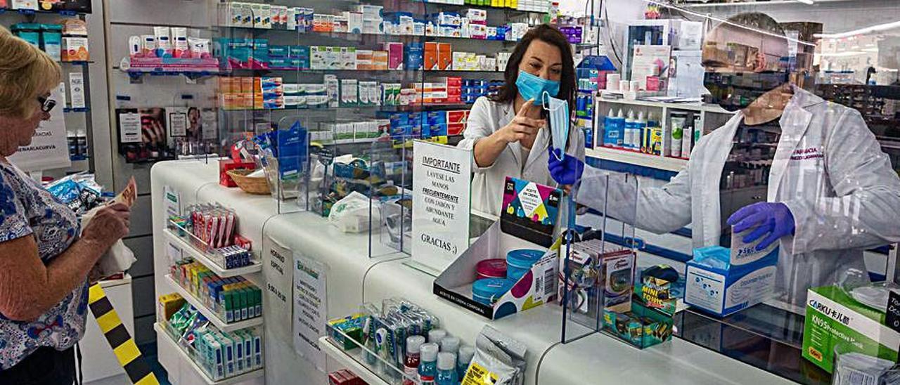 Una farmacia de la provincia. | DAVID REVENGA