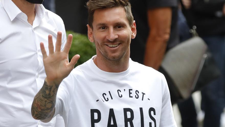 Lionel Messi es retroba amb Neymar