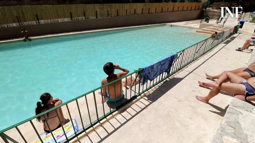 El Preventorio de Alcoy abre la piscina con estrictas medidas anticovid tras dos años cerrada