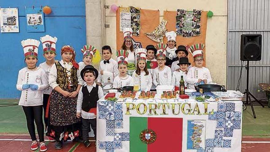 Entroido gastronómico en Porto-Cabeiro