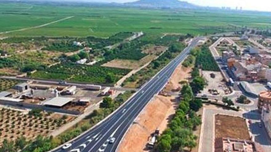 El ministerio mejora los accesos de Algemesí y Favara a la autopista AP-7
