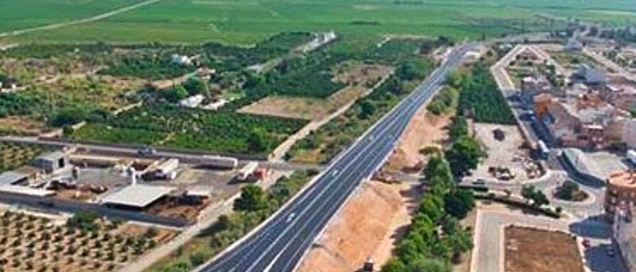 Mejoras realizadas en los accesos de Algemesí y Favara. | LEVANTE-EMV
