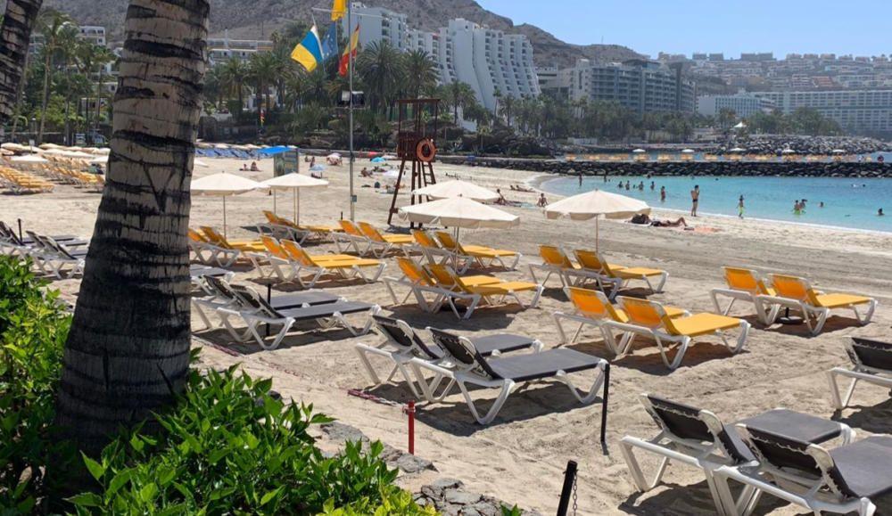 Desescalada en Canarias | La playa de Anfi del Mar abre con la fase 2