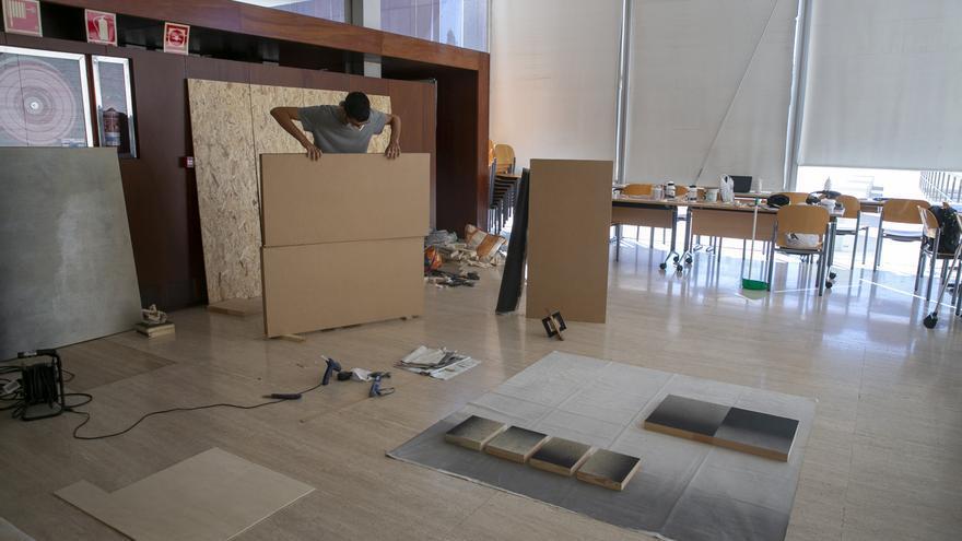 Arte en la distancia en las Residencias del MUA