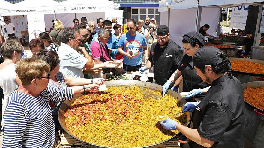 Gandia traslada  a septiembre el concurso de fideuà y gastronomía