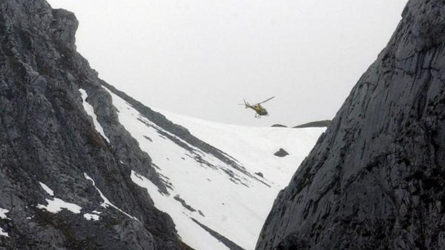 Muere un hombre de 53 años por hipotermia a 300 metros de la cima del Pico Torres (Aller)