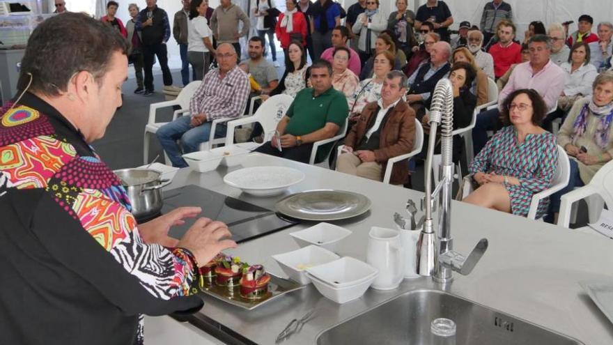 Un jueves en la Festa do Marisco do Grove