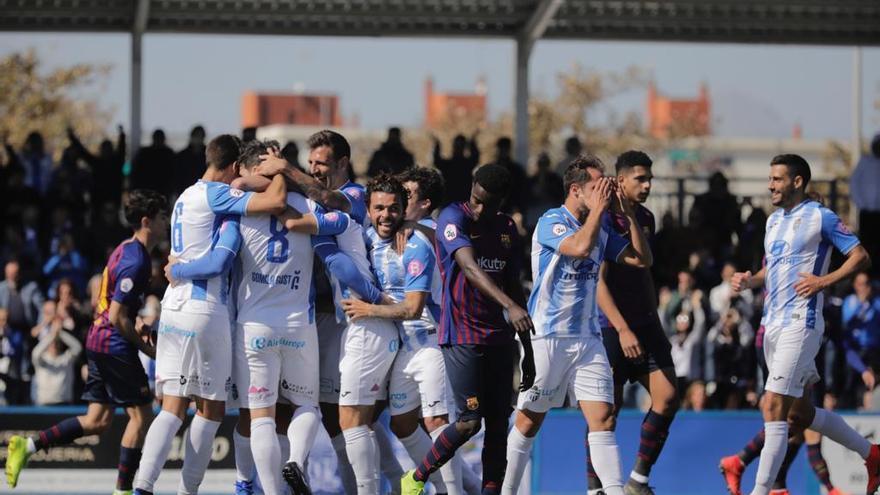 El Atlético Baleares ejerce de líder ante el Barça B