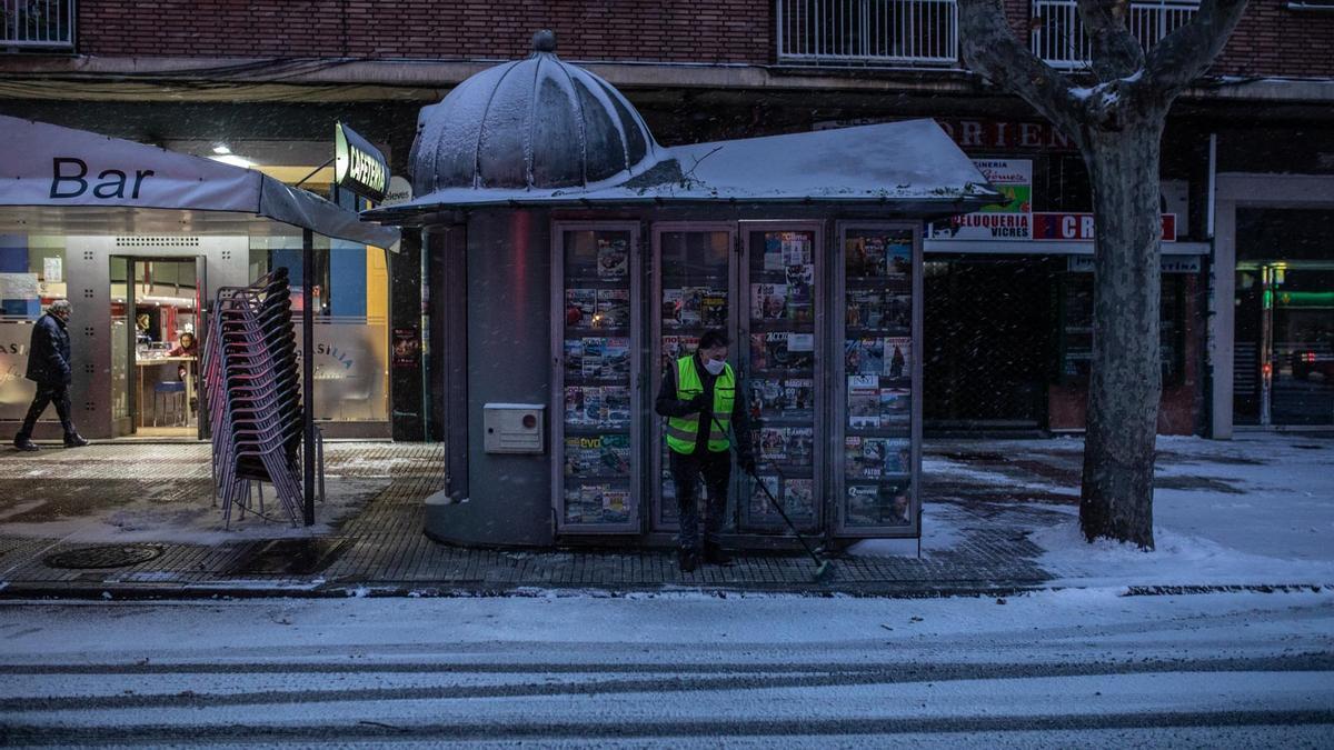 GALERÍA   Borrasca Filomena en Zamora, las imágenes del temporal