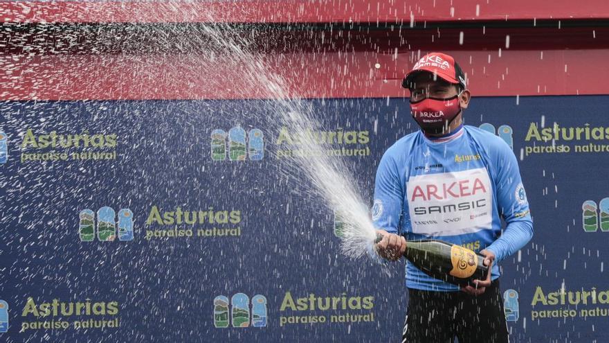 Todas las imágenes de la última etapa de la Vuelta a Asturias