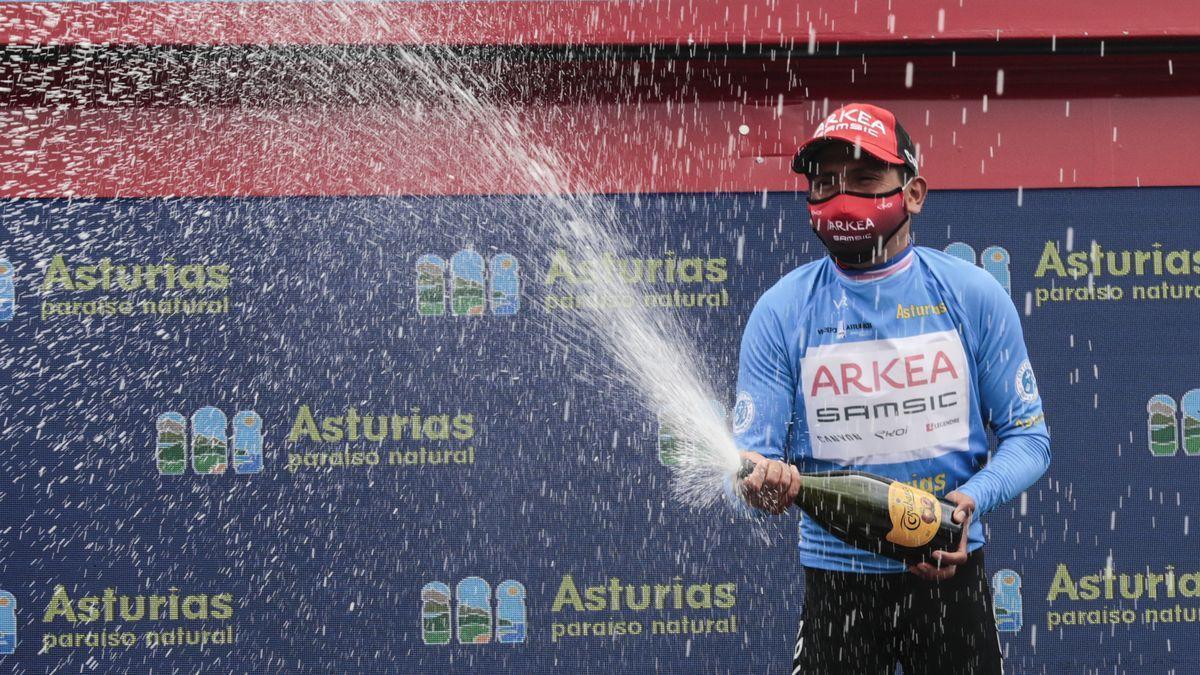 Nairo Quintana, vencedor de la Vuelta a Asturias