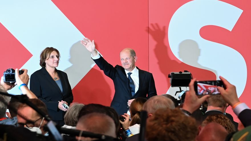 Ajustado triunfo de los socialdemócratas