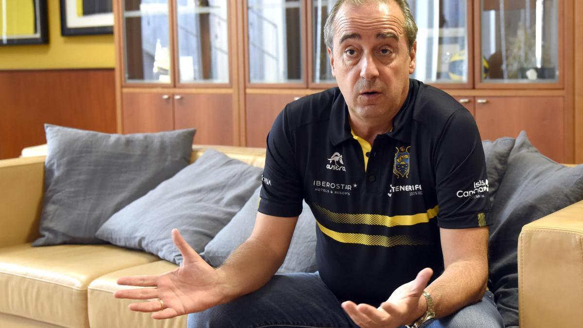 Txus Vidorreta, en una entrevista anterior.
