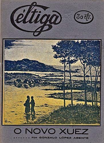 O Novo xuez de Gonzalo  López Abente, volume publicado por Céltiga.