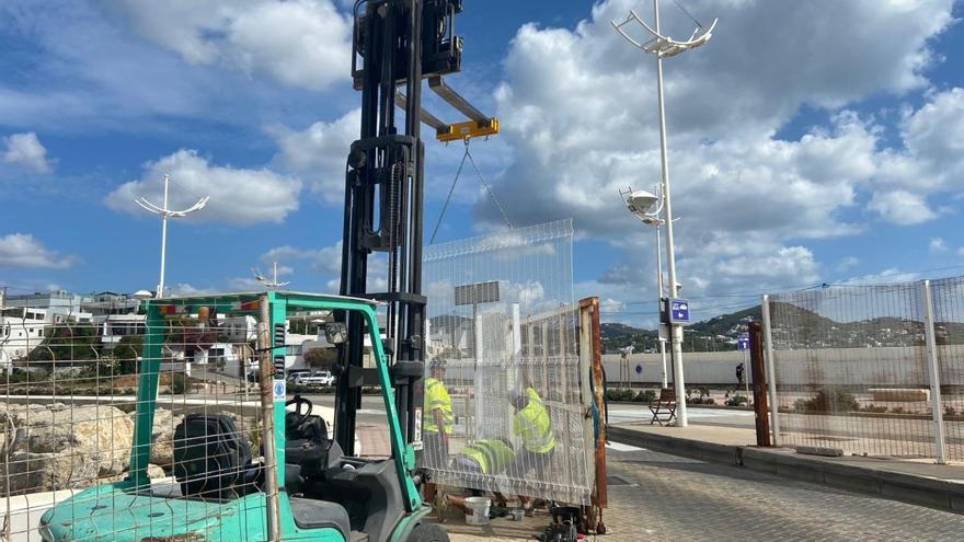La APB refuerza la seguridad del puerto de Ibiza