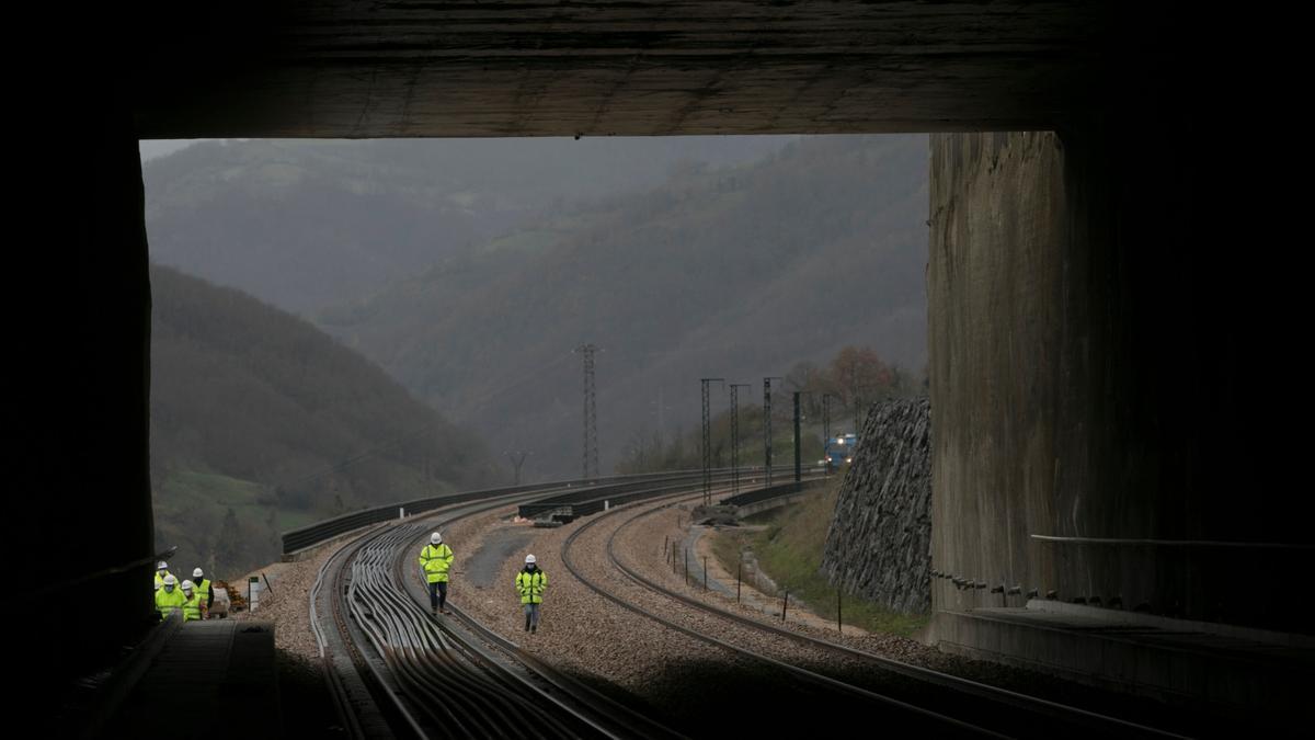 Visitamos las obras de la Variante ferroviaria de Pajares