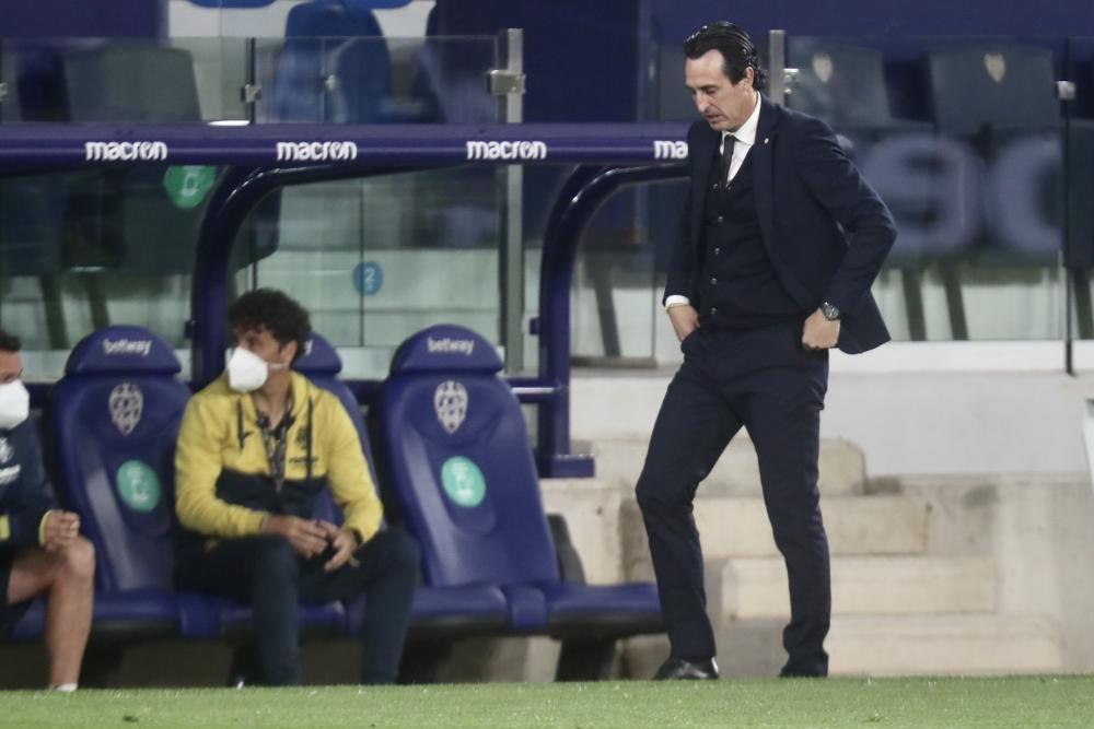 Las mejores imágenes del Levante UD - Villarreal
