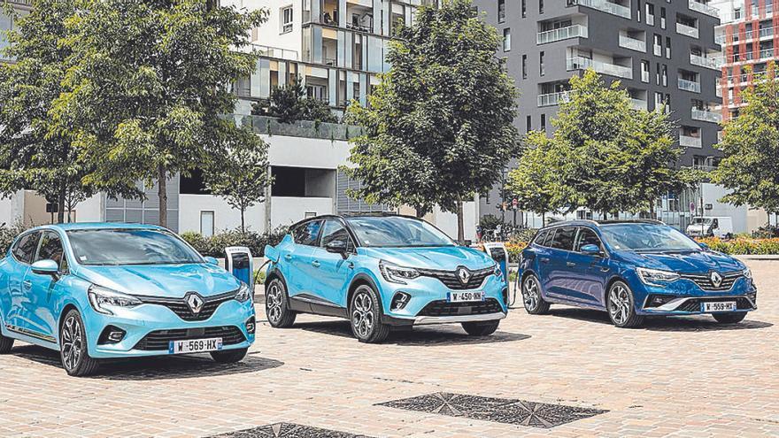 Renault aposta per la tecnologia híbrida amb la gamma de vehicles E-Tech