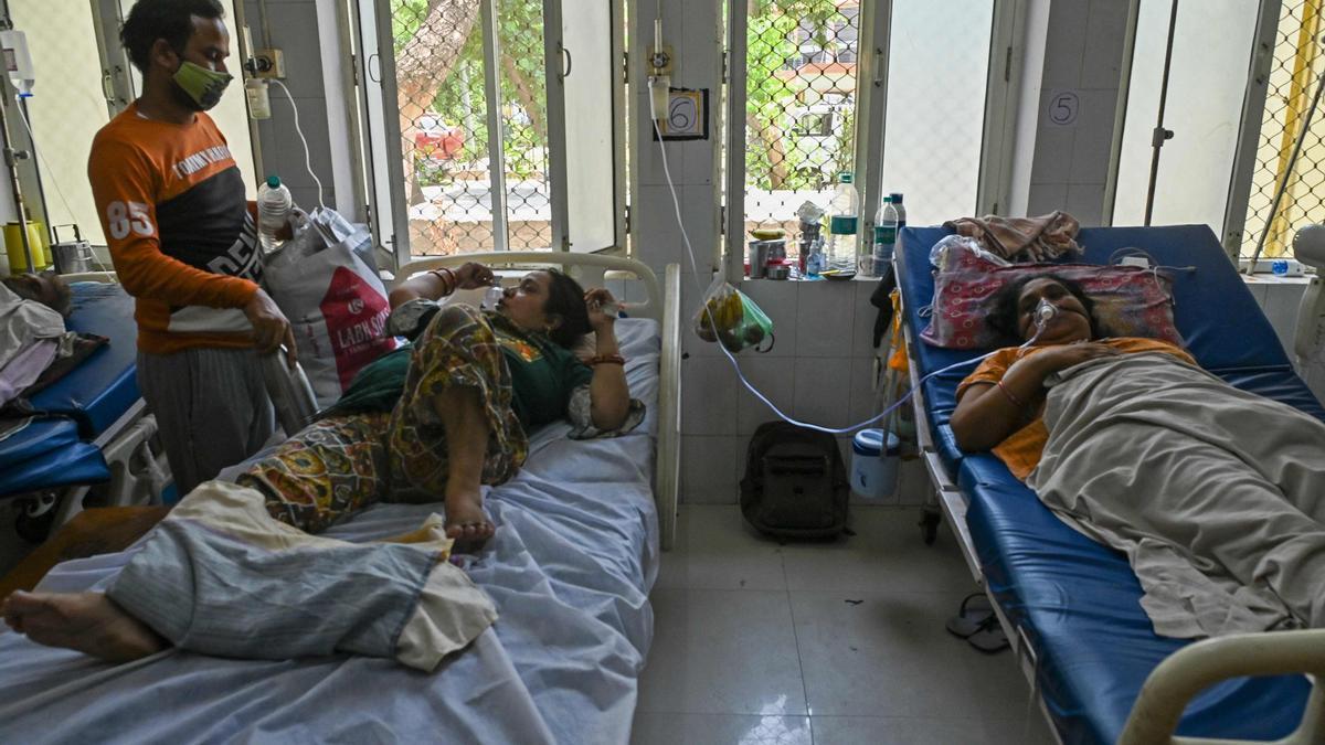 Hospitales llleno por el coronavir s