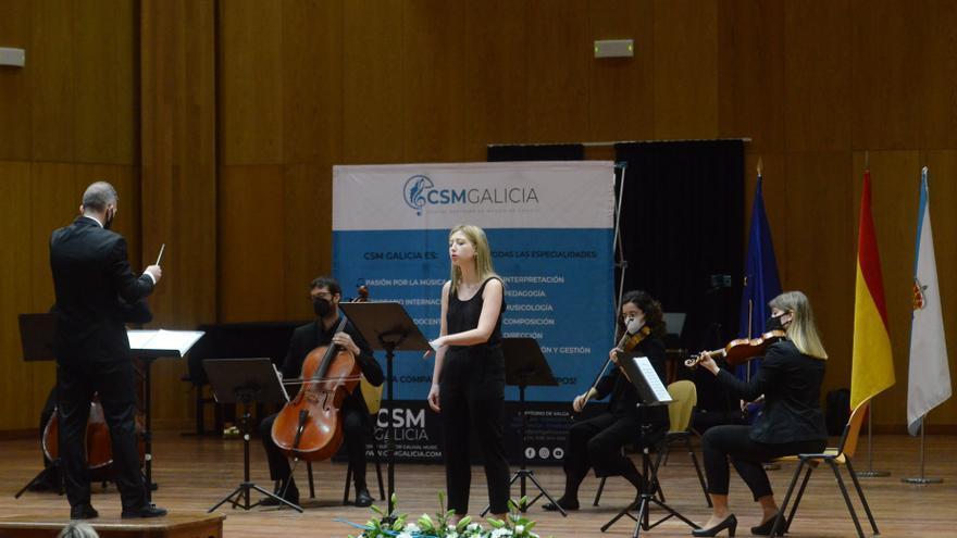 Día de concierto en Valga