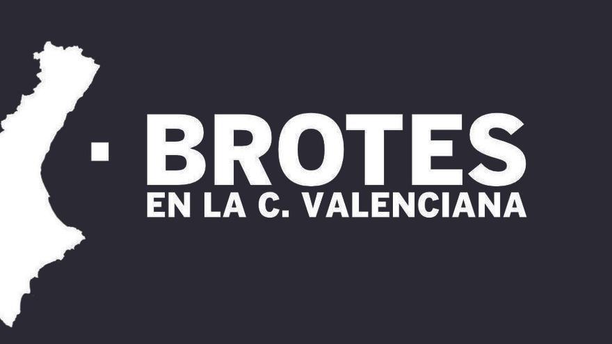Listado completo con los 180 brotes de la C. Valenciana