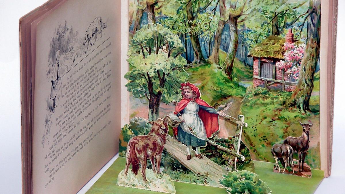 Uno de los libros de la muestra