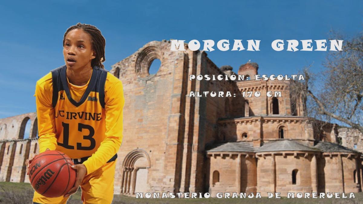 Anuncio del fichaje de Morgan Green por parte del CD Zamarat